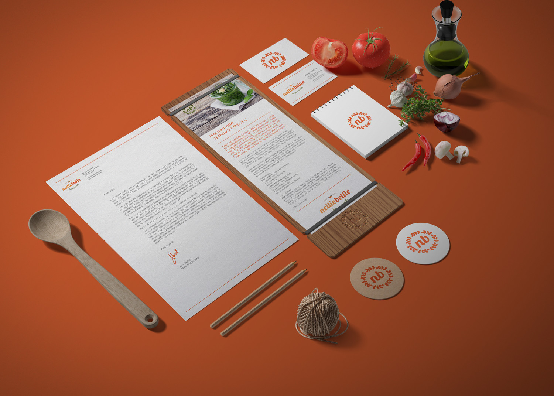 Food Blog Brand Identity Design