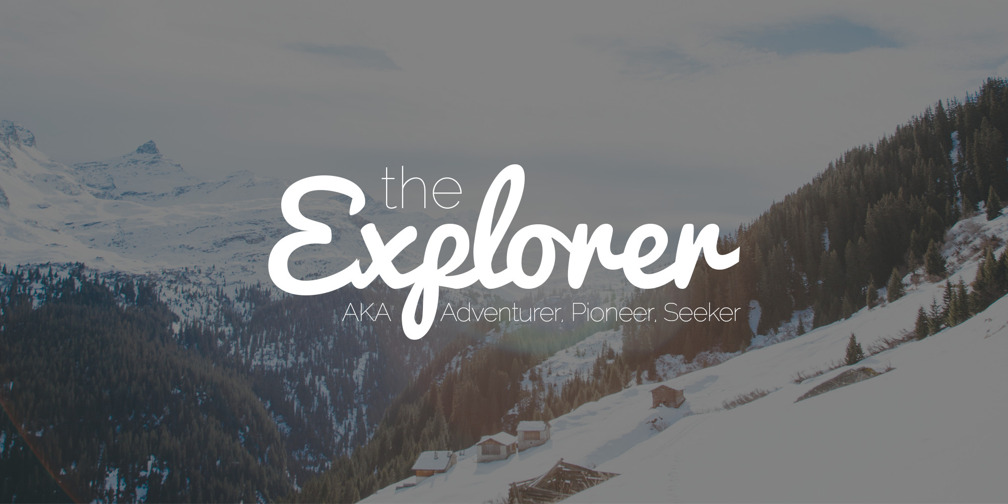 Explorer Brand Archetype