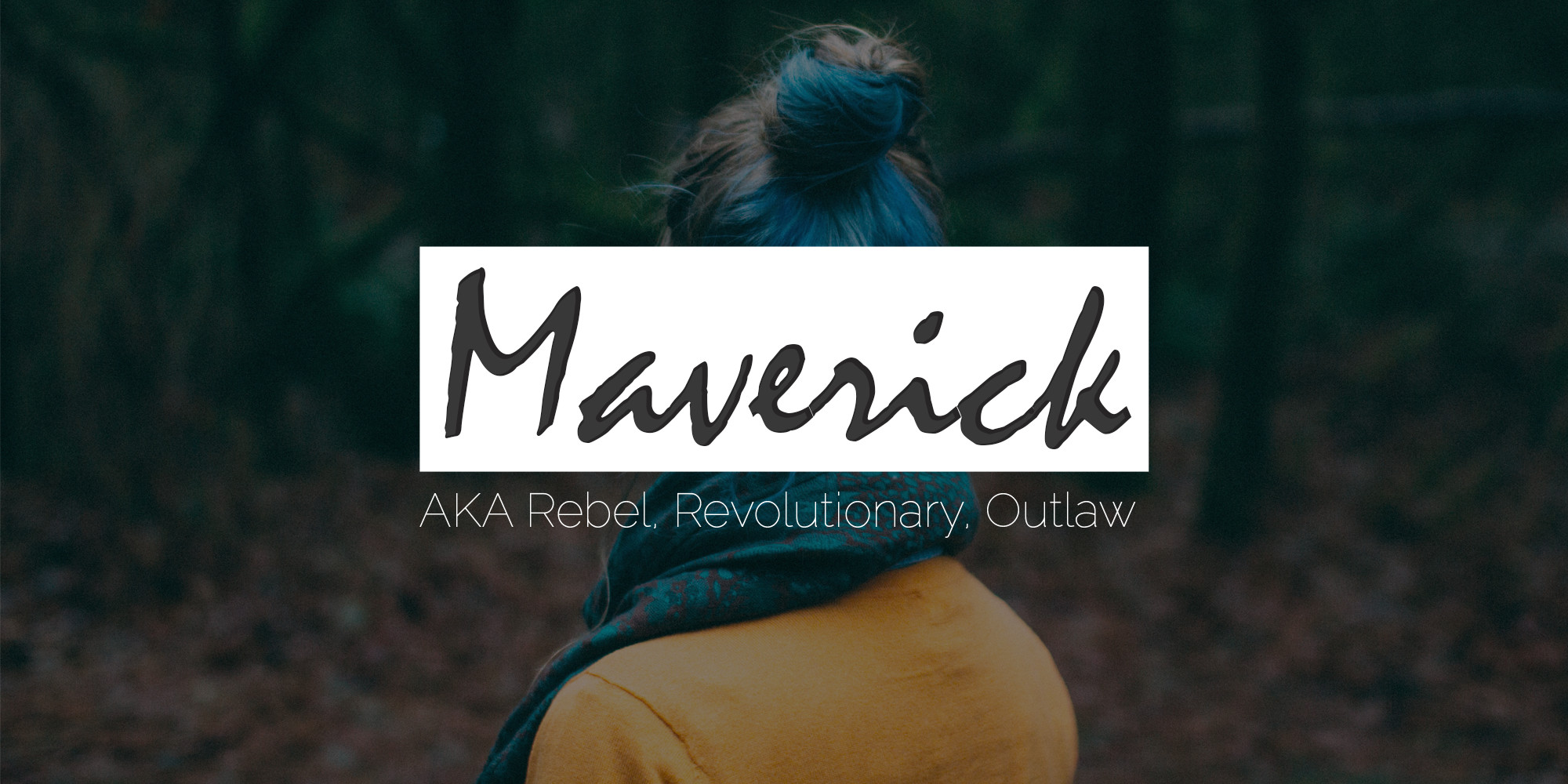 Maverick Brand Archetype