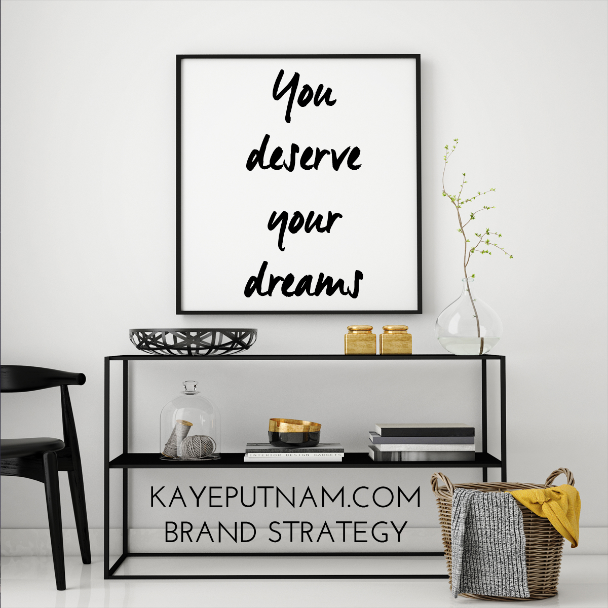 You deserve your dreams. #InDemandBrand