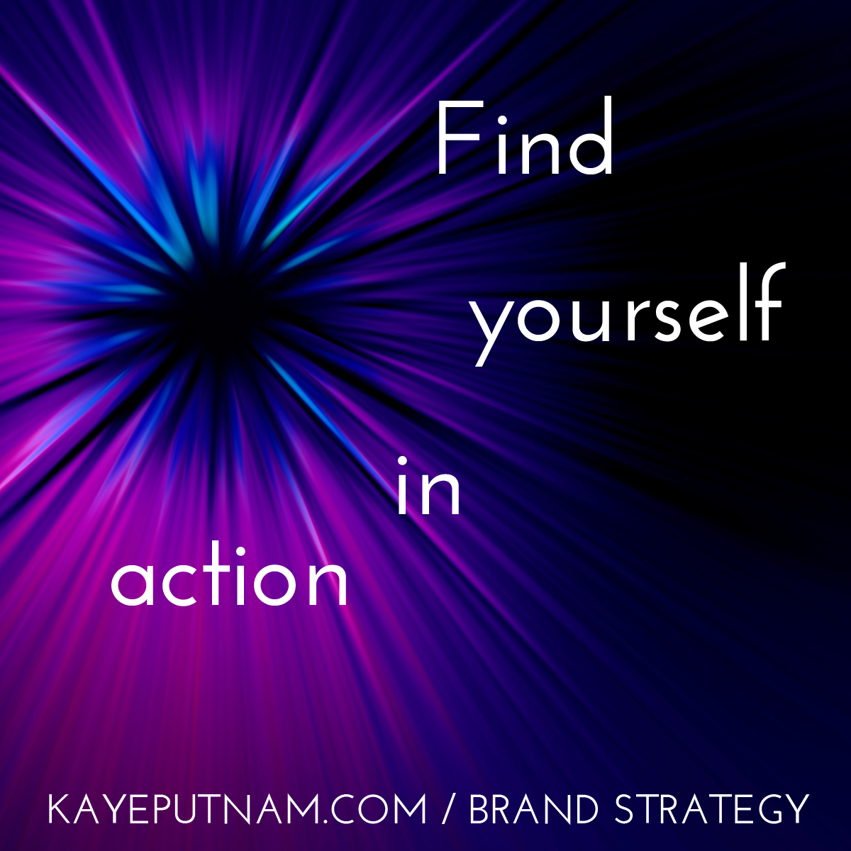 Find yourself in action. #InDemandBrand