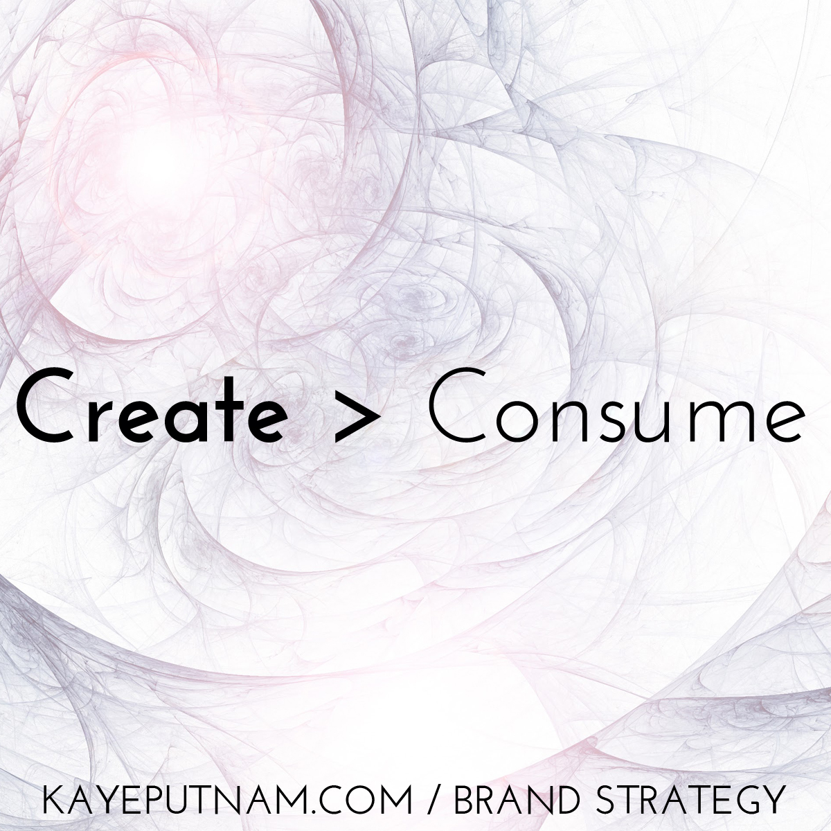 Create > Consume #InDemandBrand