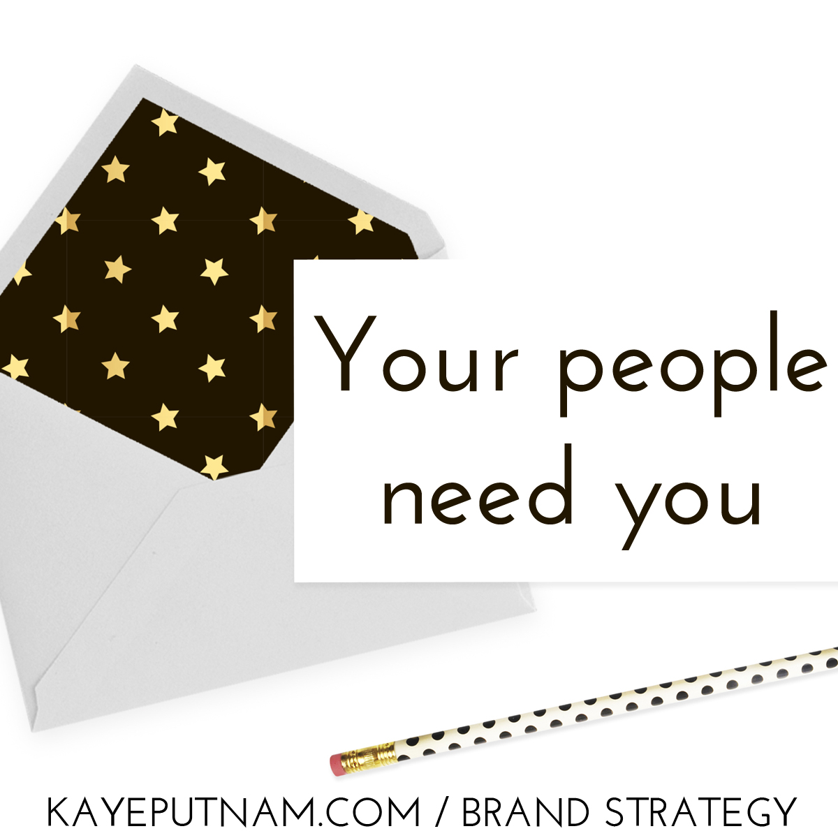 Your people need you. #InDemandBrand