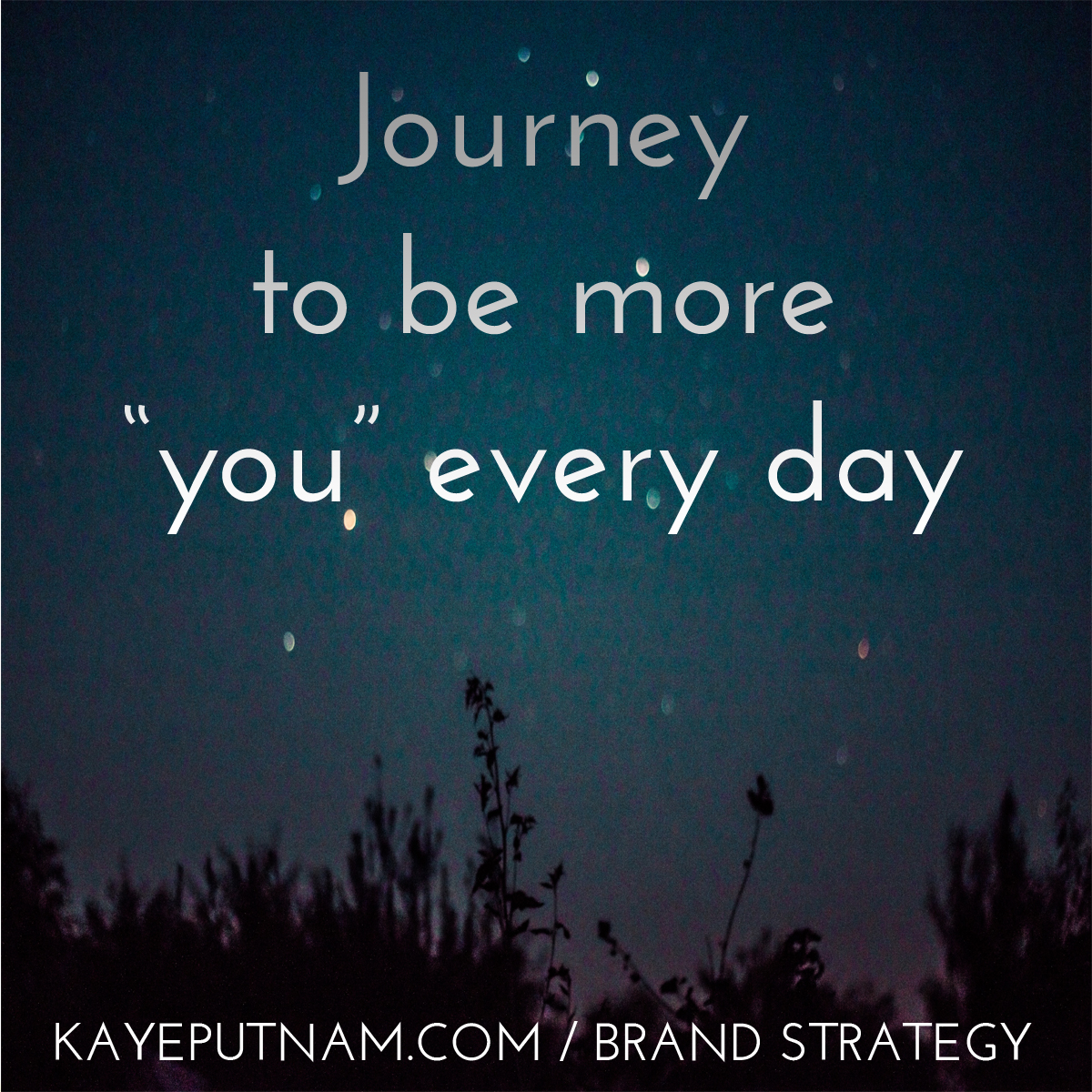 Journey to be more you every day. #InDemandBrand