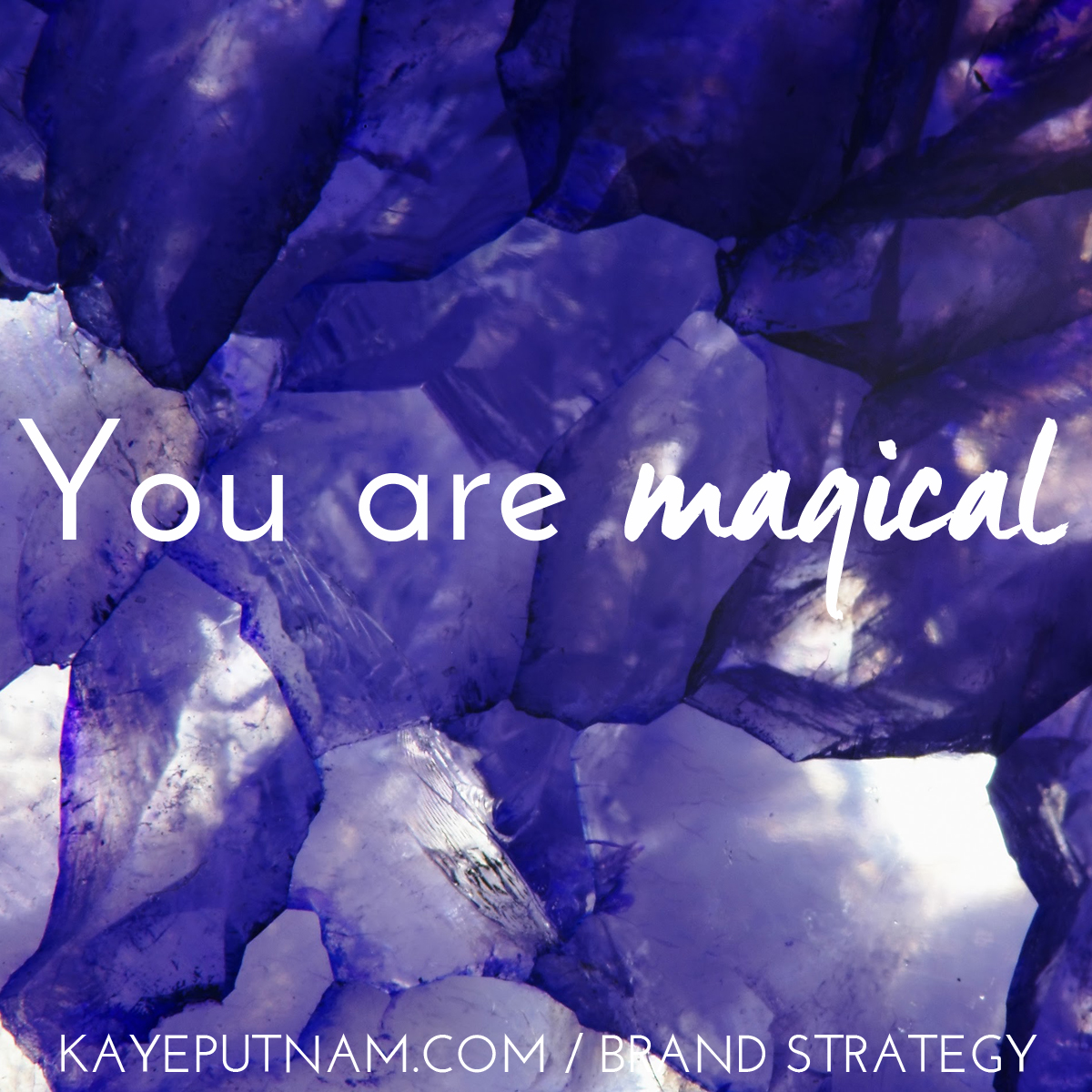 You are magical. #InDemandBrand