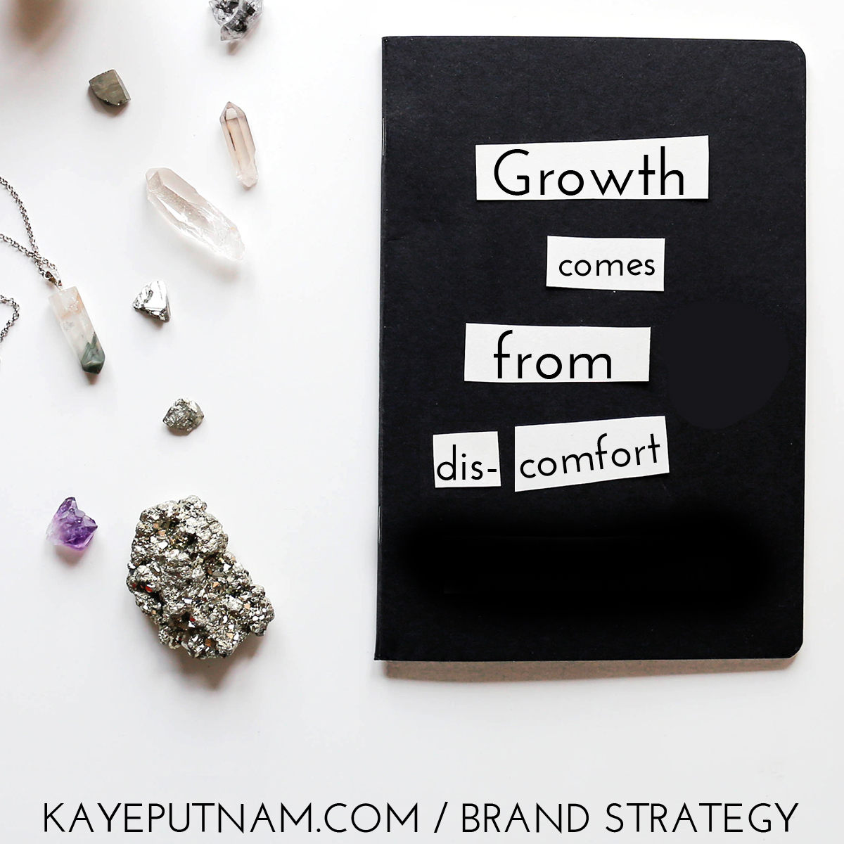 Growth comes from discomfort. #InDemandBrand