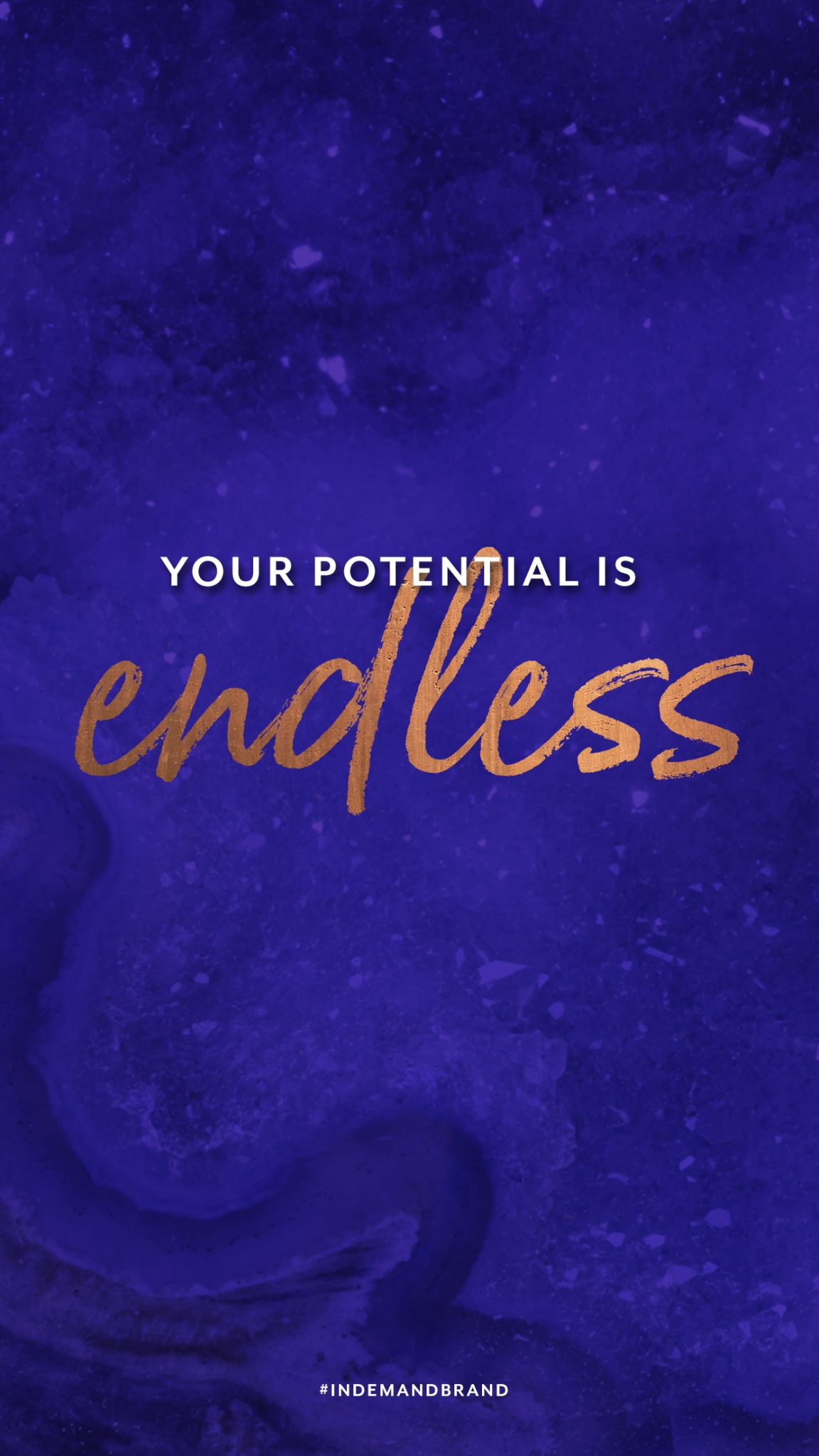 Your potential is endless. #InDemandBrand