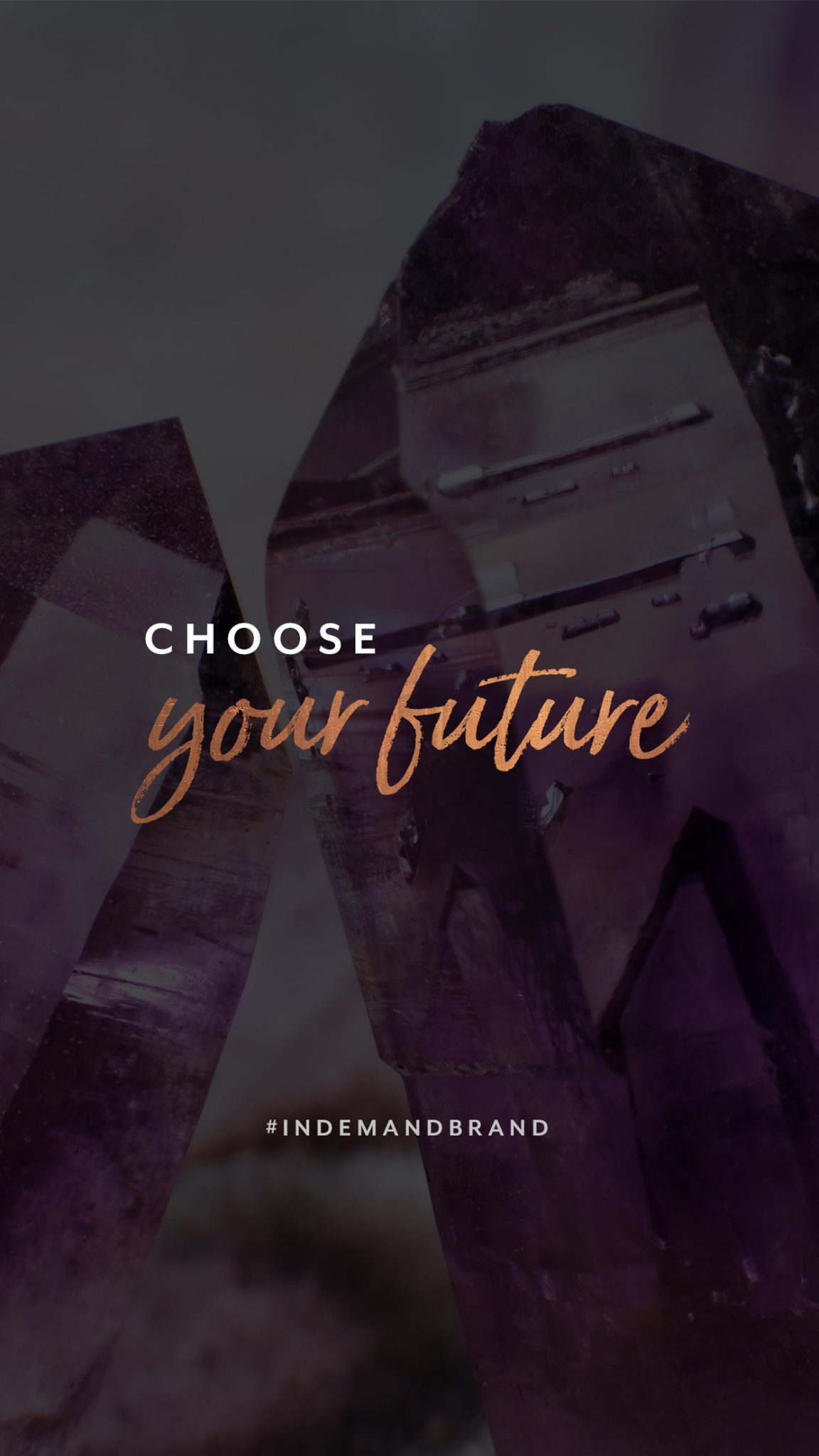 Choose your future. #InDemandBrand